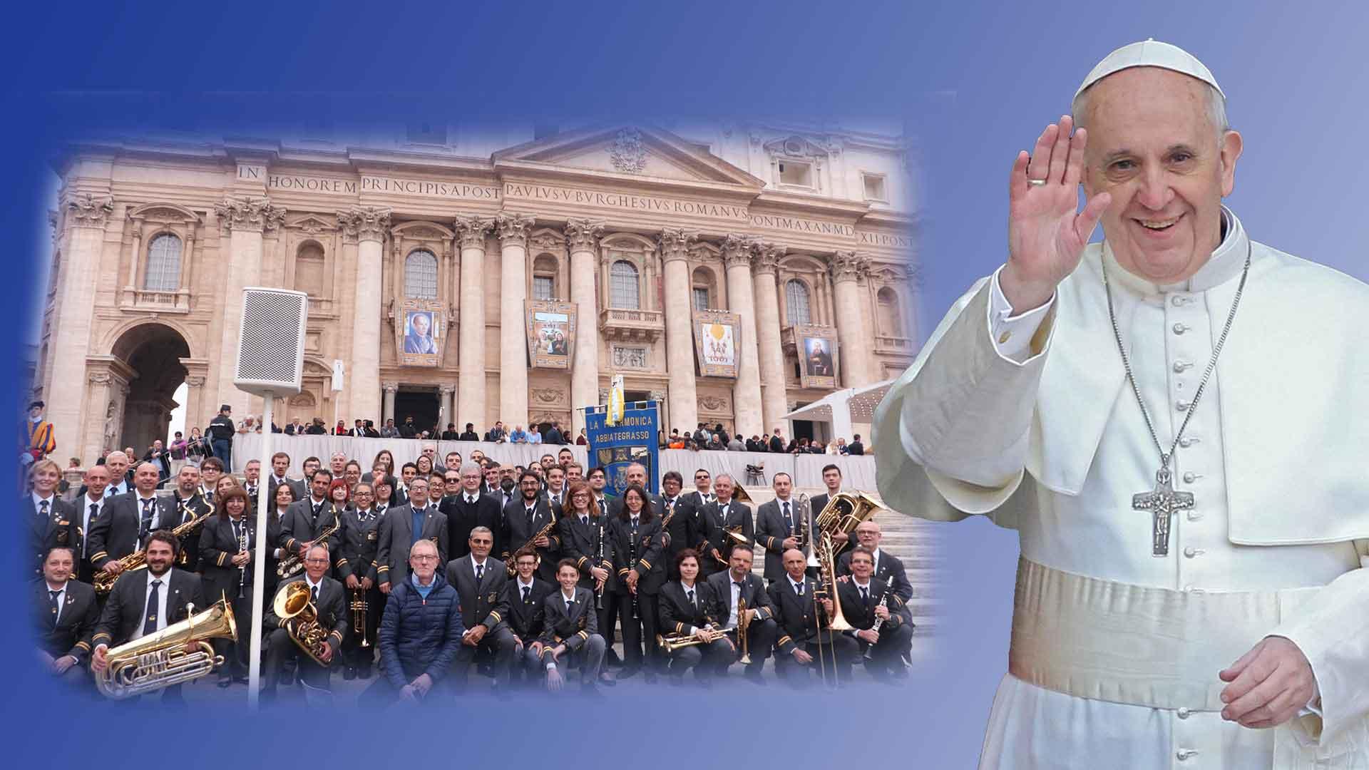 18 Ottobre 2017 – La Filarmonica da Papa Francesco